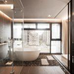 Luxusní koupelny ve stylu lázní