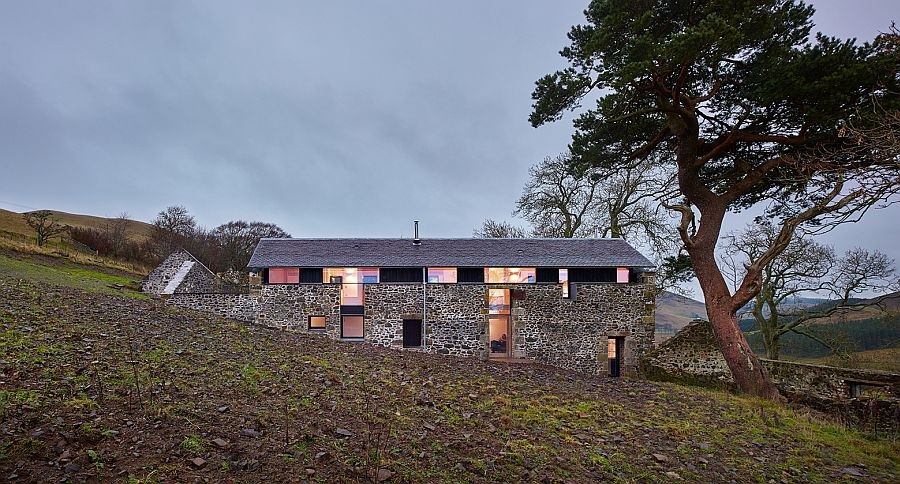 Starý dům ve skotské stylu