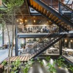 Stylová kavárna ve Vietnamu přináší inspiraci