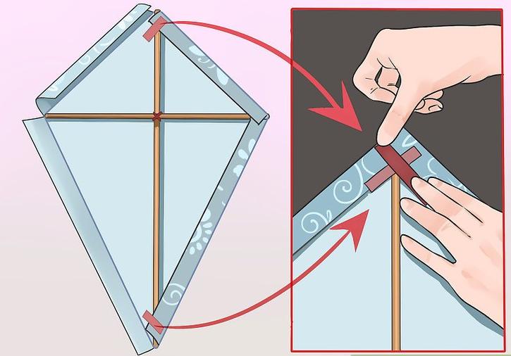 Jak vyrobit létajícího draka z papíru – DIY