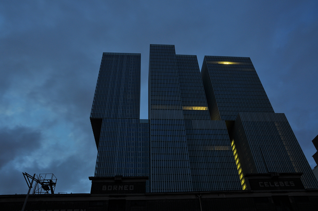 De Rotterdam, vertikální město a největší budova Holandska