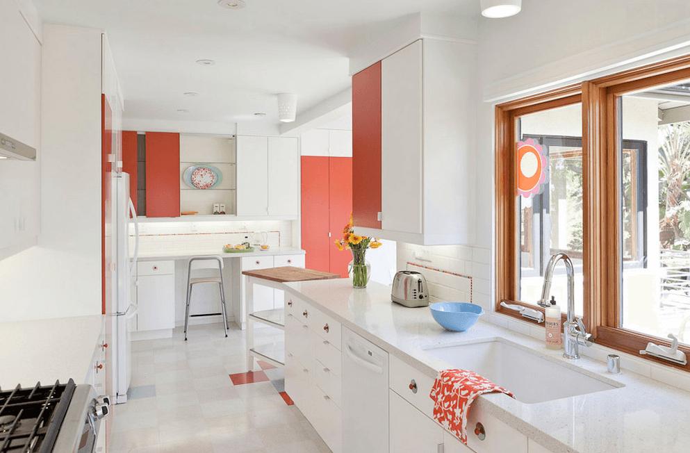 11 inspirací na bílou kuchyň