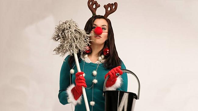 Jak zvládnout vánoční úklid levou zadní a nestrhat se